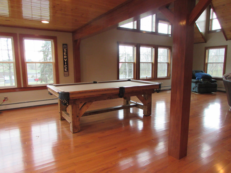 Olhausen Timber Ridge Pool Table installed in Waynesboro PA