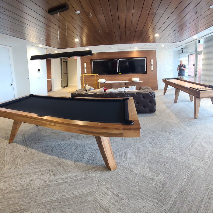 California House Austin Pool Table and Shuffleboard installed in Arlington Virginia