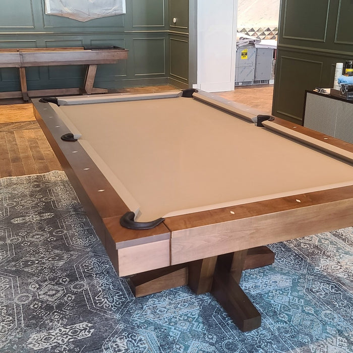 California House Petaluma Pool Table and Shuffleboard Installed in Washington DC
