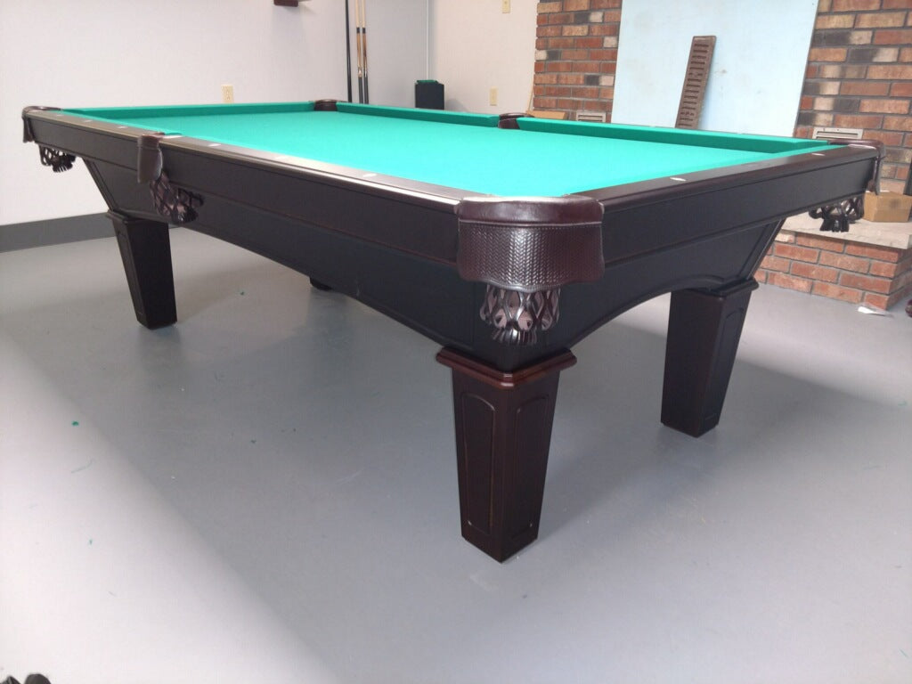 Olhausen Belmont Pool Table installed in Waynesboro PA
