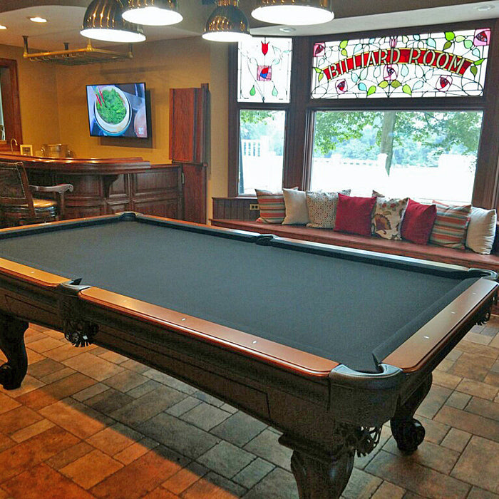How To Install A Pool Table Slate Installation Home Billiards >> News Robbies Billiards