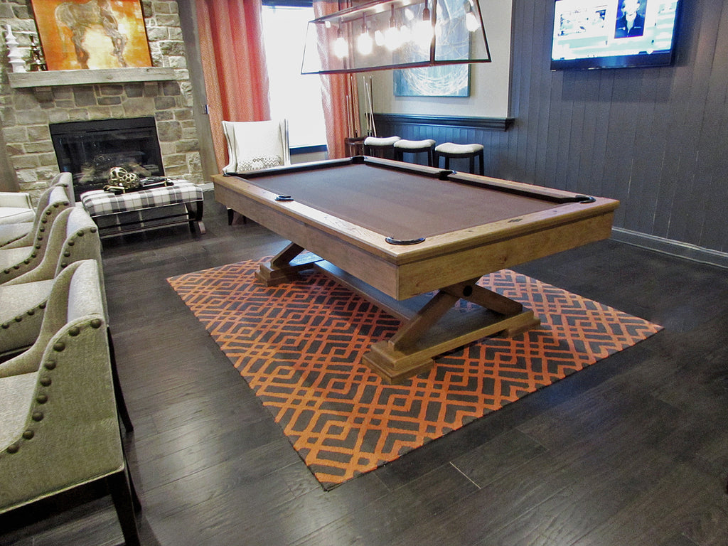 Brunswick Pool Table Maryland Designer Install 2016 – Robbies Billiards