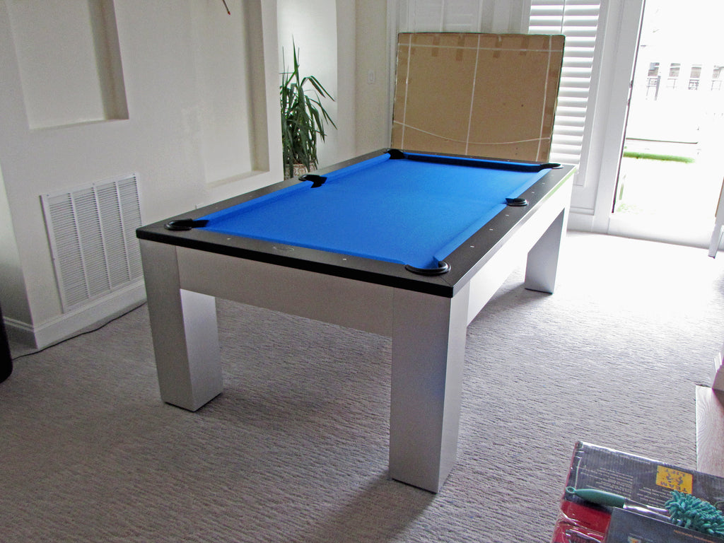 Olhausen Madison Pool Table Installed In Rockville Maryland - Pool table repair maryland