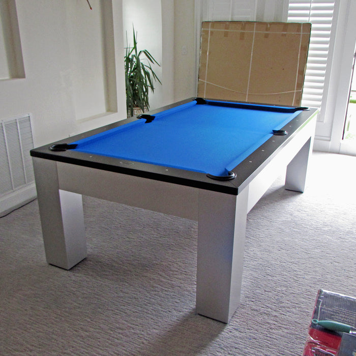 Olhausen Madison Pool Table installed in Rockville Maryland