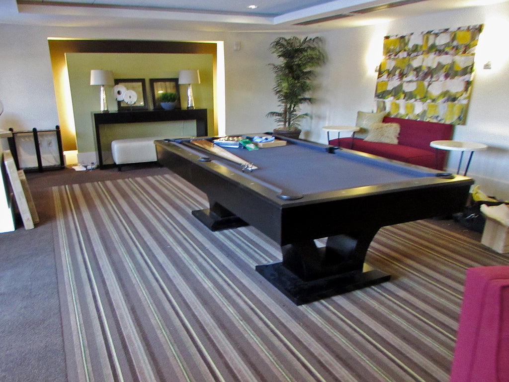 Olhausen Alexandria Pool Table installed in Washington DC