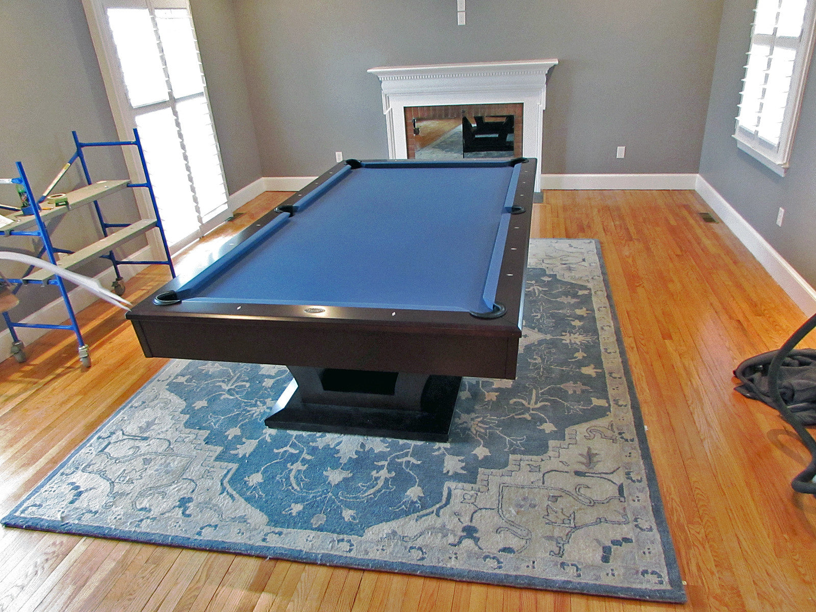 Olhausen Alexandria Pool Table installed in Marriotsville Maryland