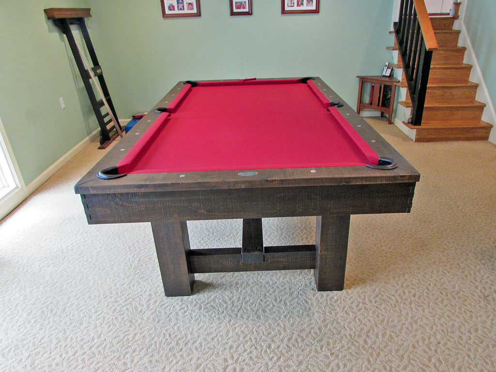 Olhausen Breckenridge Pool Table Installed In Rockville Maryland - Olhausen breckenridge pool table