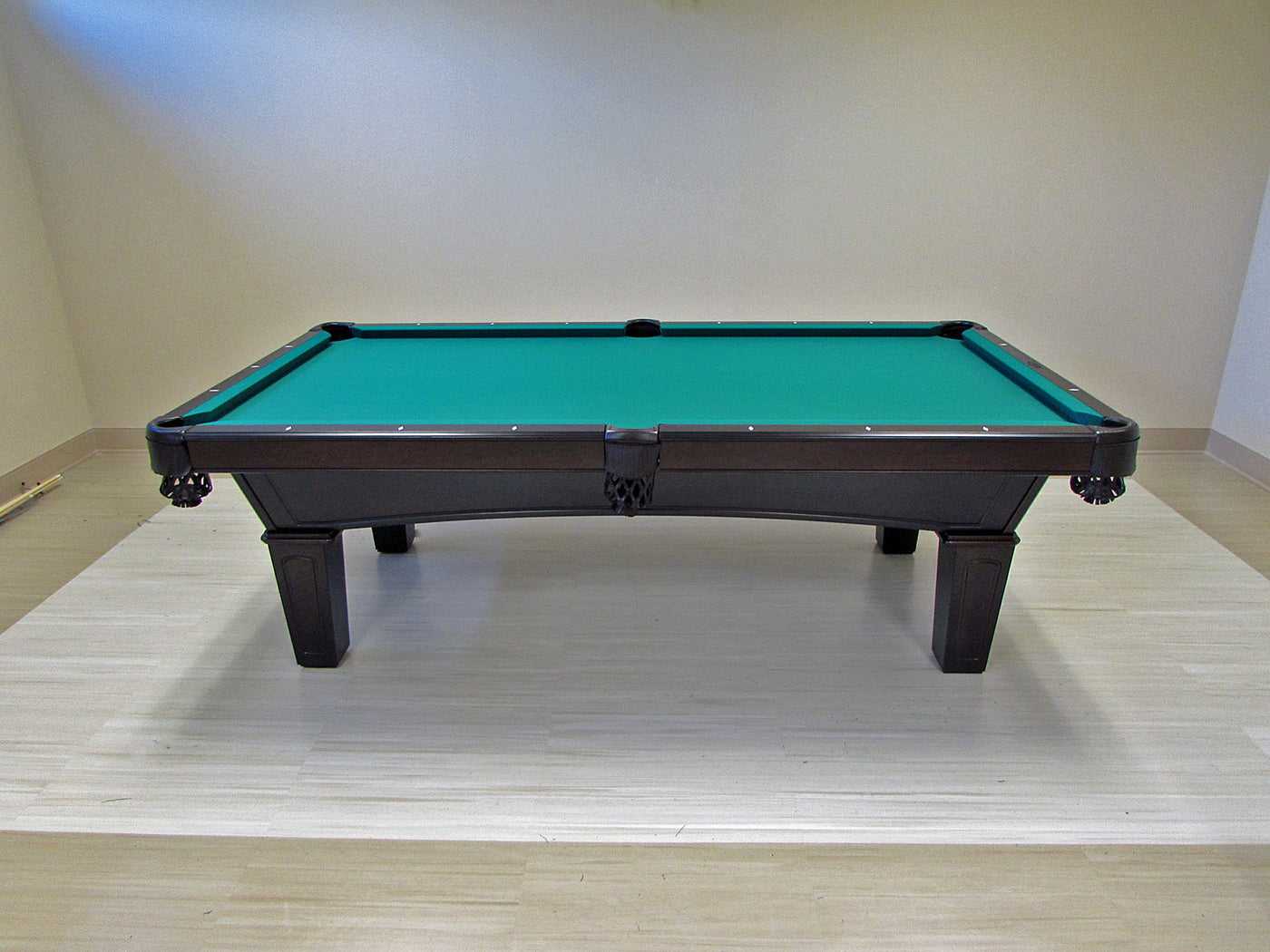 Olhausen Reno Pool Table installed in Baltimore Maryland