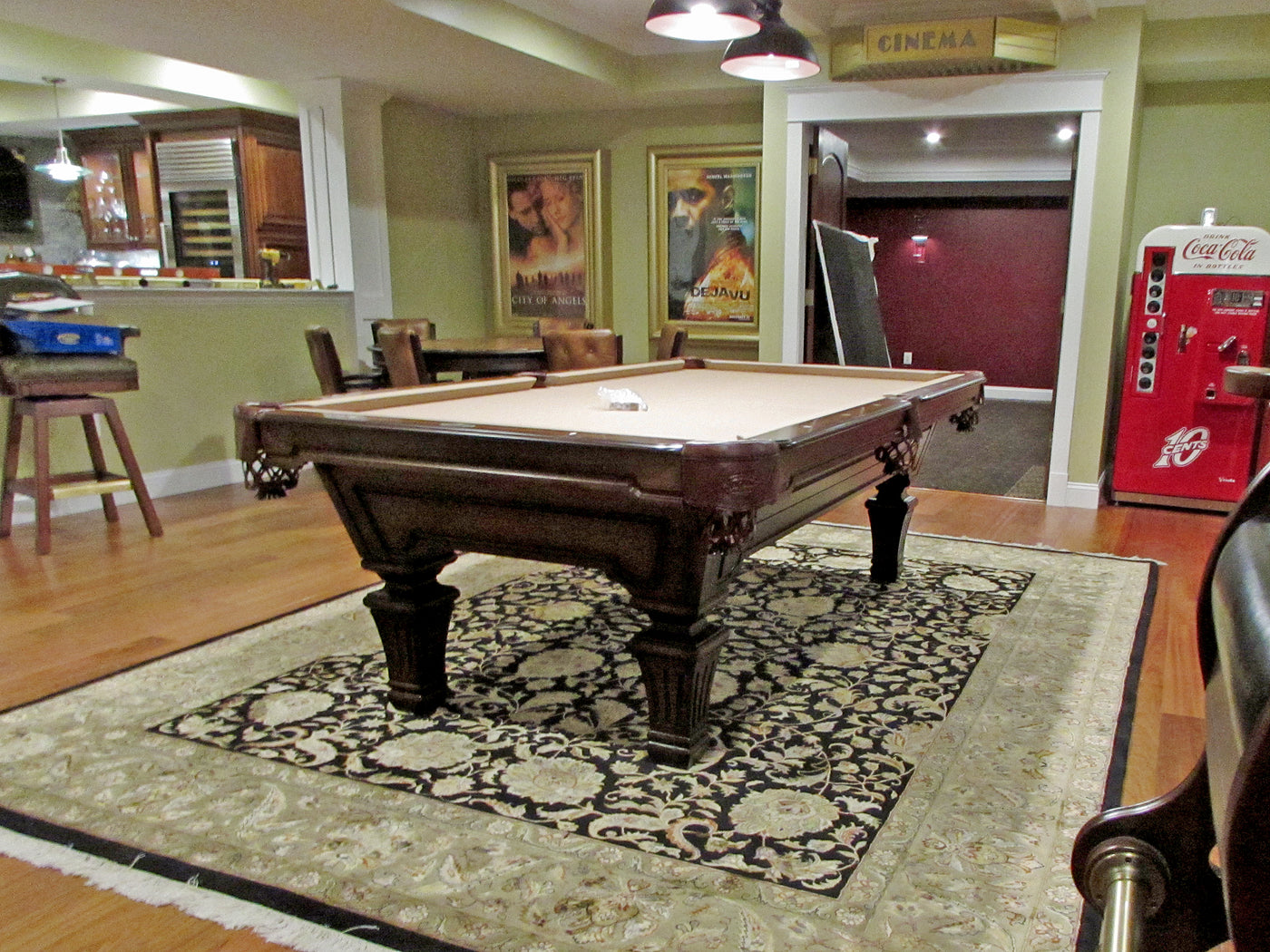 Captivating Olhausen Hampton Pool Table Delivered To Davidsonville Maryland