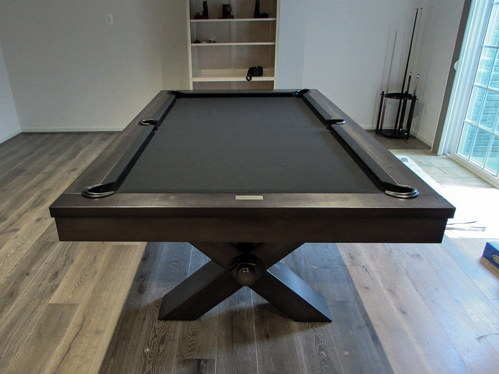 Plank And Hide Vox Pool Table Installed In Rockville Maryland - Pool table stores in maryland