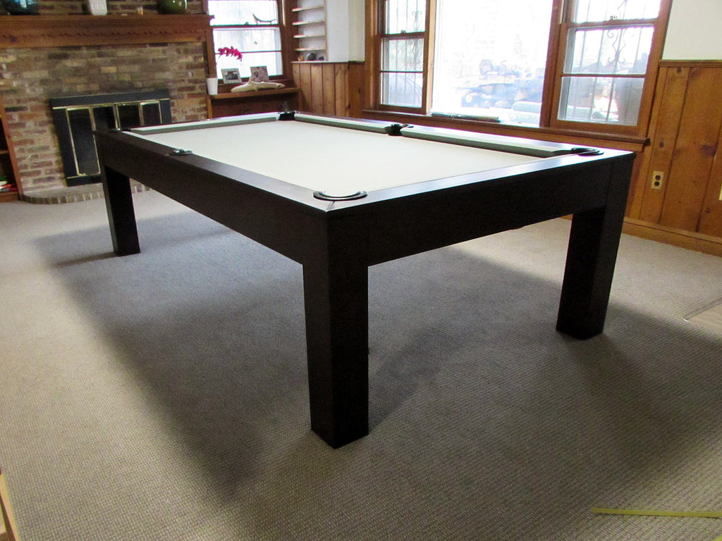 Robbies Billiards Dining Pool Table Delivered to Arlington Virginia