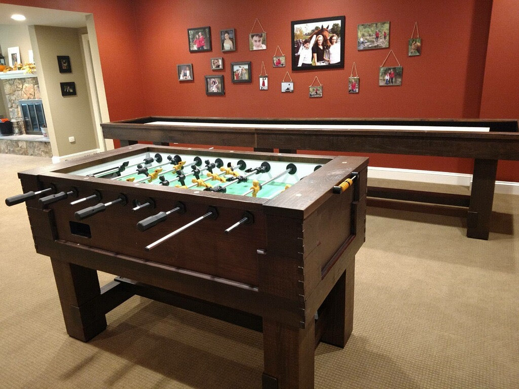 olhausen breckenridge foosball table with shuffleboard