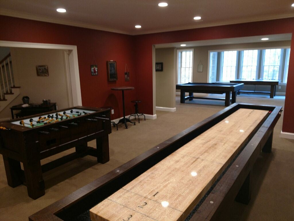 olhausen breckenridge shuffleboard with foosball