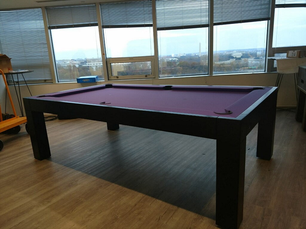 canada billiard Dream pool table purple felt main