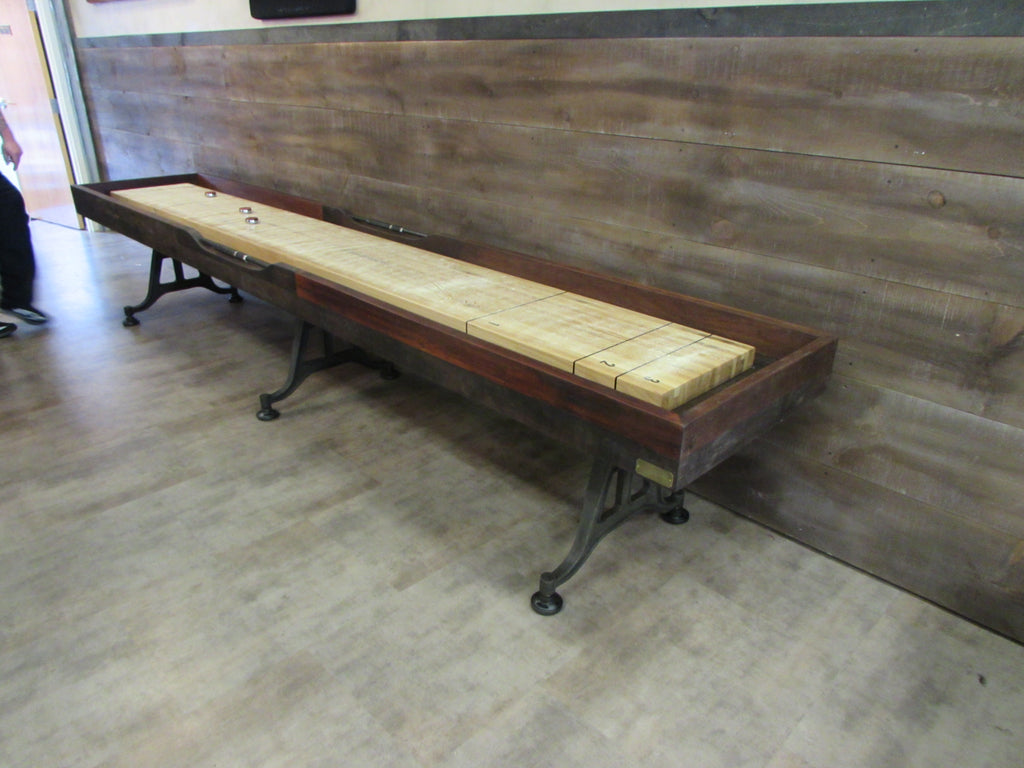 restoration iron shuffleboard table frederick maryland 2