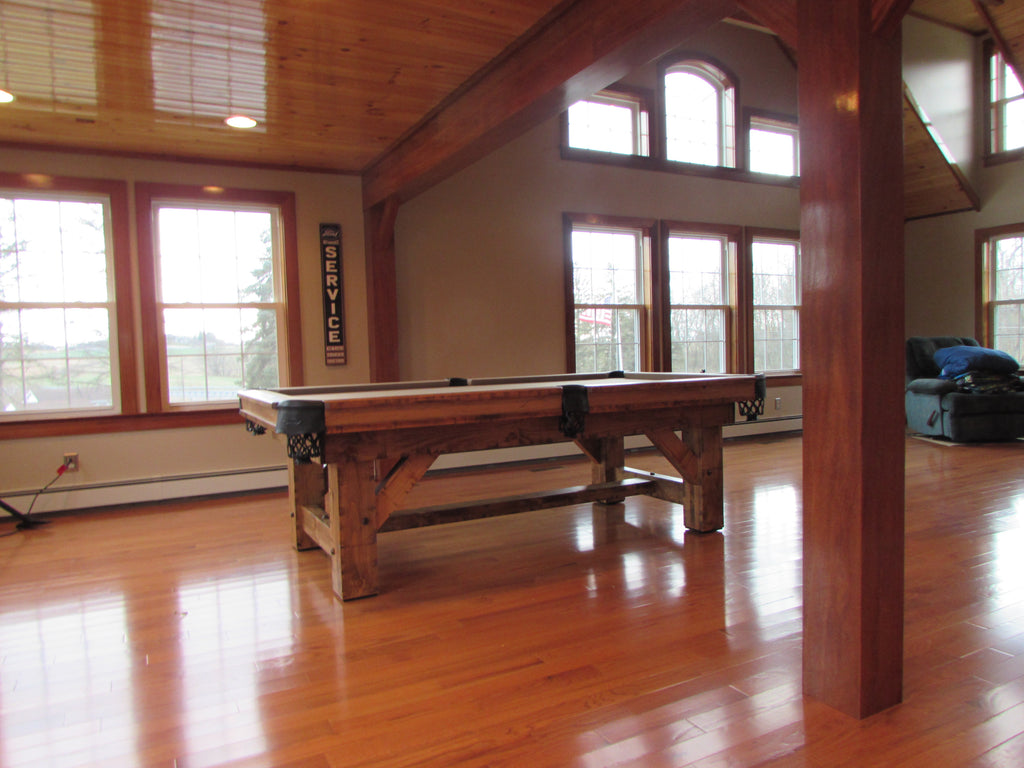 Olhausen timber ridge pool table room