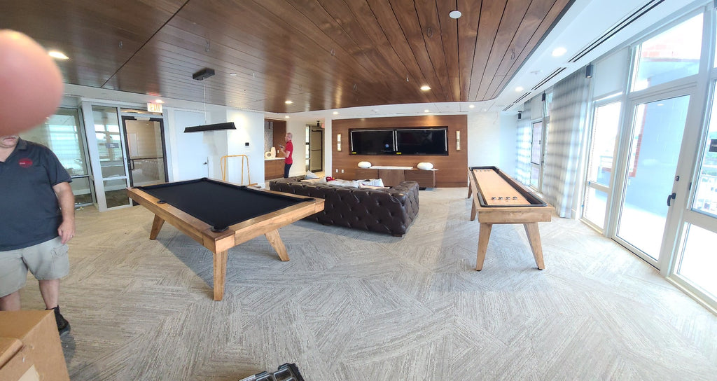austin pool table and shuffleboard by california house furniture