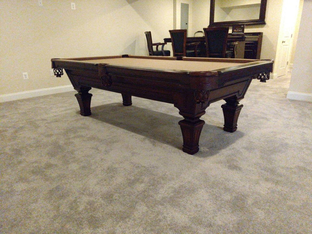 olhausen hampton pool table side