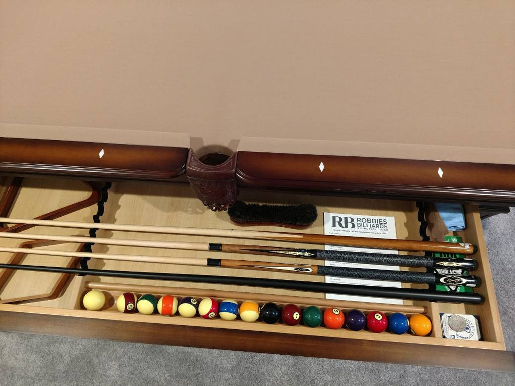 olhausen hampton pool table drawer