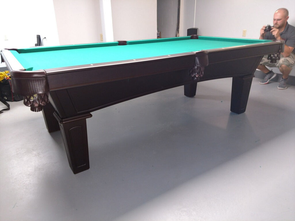 Olhausen Belmont Pool Table side view