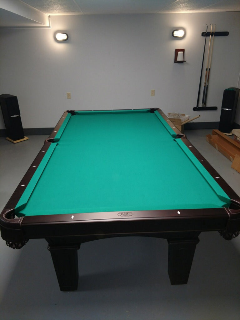Olhausen Belmont Pool Table room setting