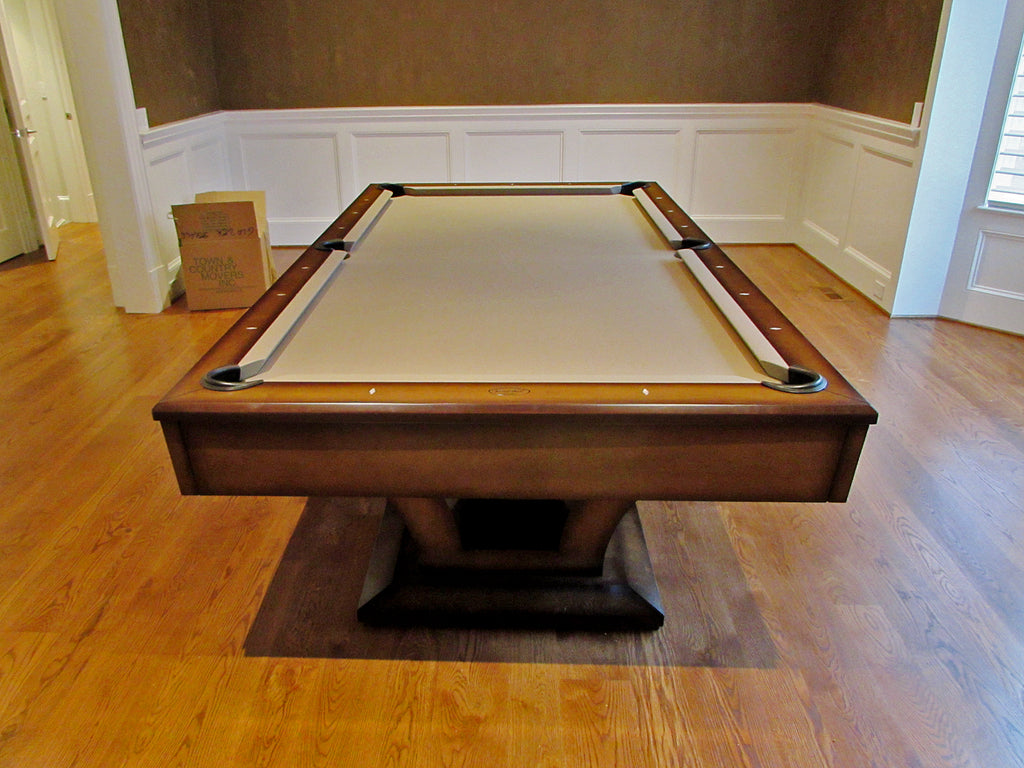 Olhausen Alexandria Pool Table installed in Potomac Maryland ...