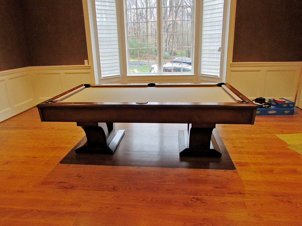 alexandria pool table side view