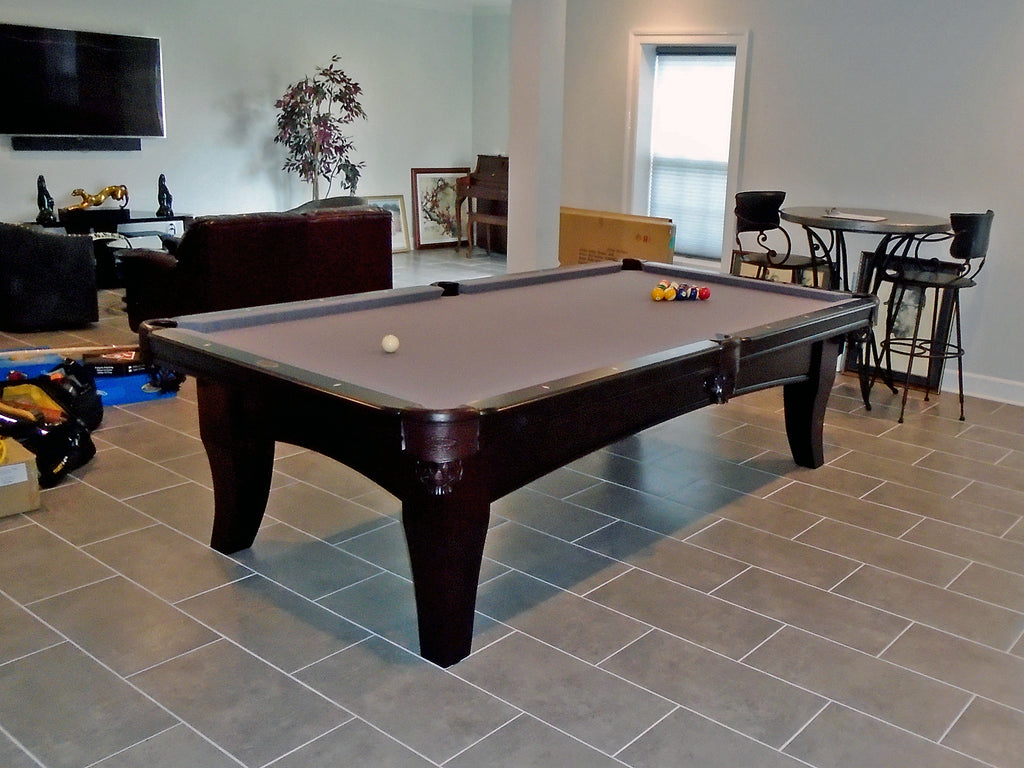 This Is One Of The Best Looking Custom Chicago Pool Tables By Olhausen  Billiards We Have Ever Installed. Jeffery H. From Upper Malboro Maryland  Designed ...