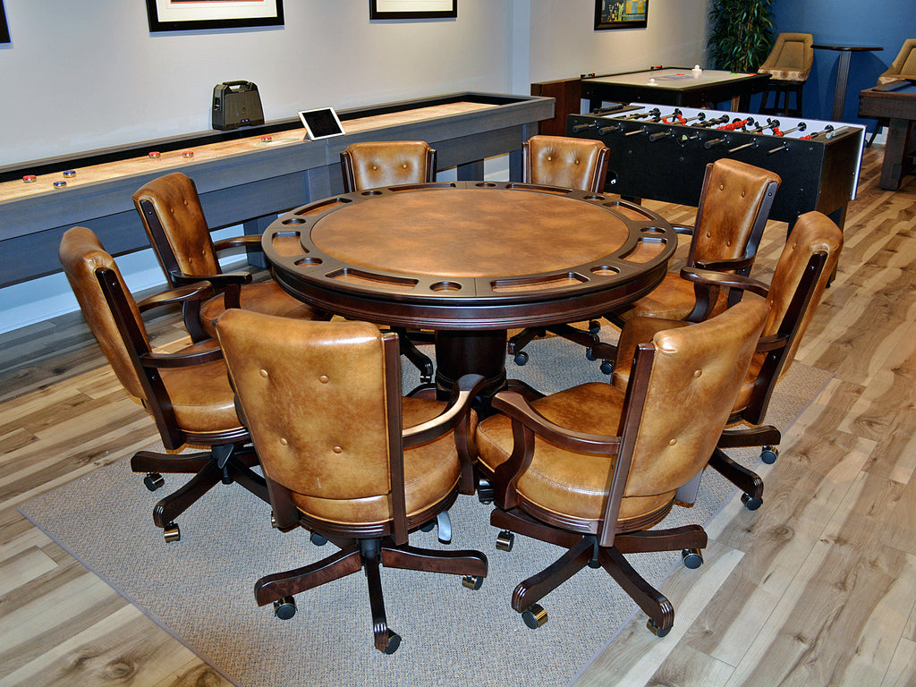 darafeev poker table set matching olhausen stain