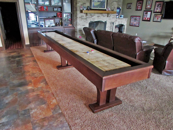 olhausen alexandria 16' shuffleboard table
