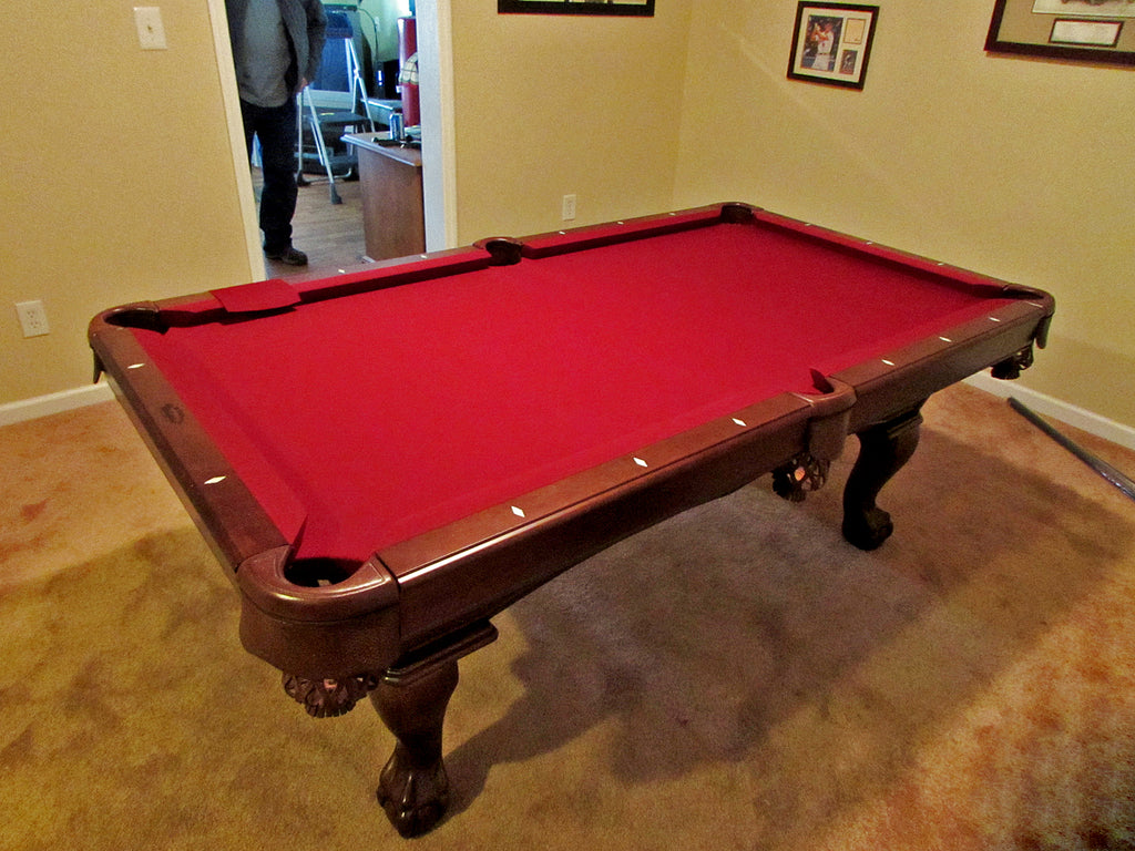 Olhausen 7' Gabriel pool table in maryland