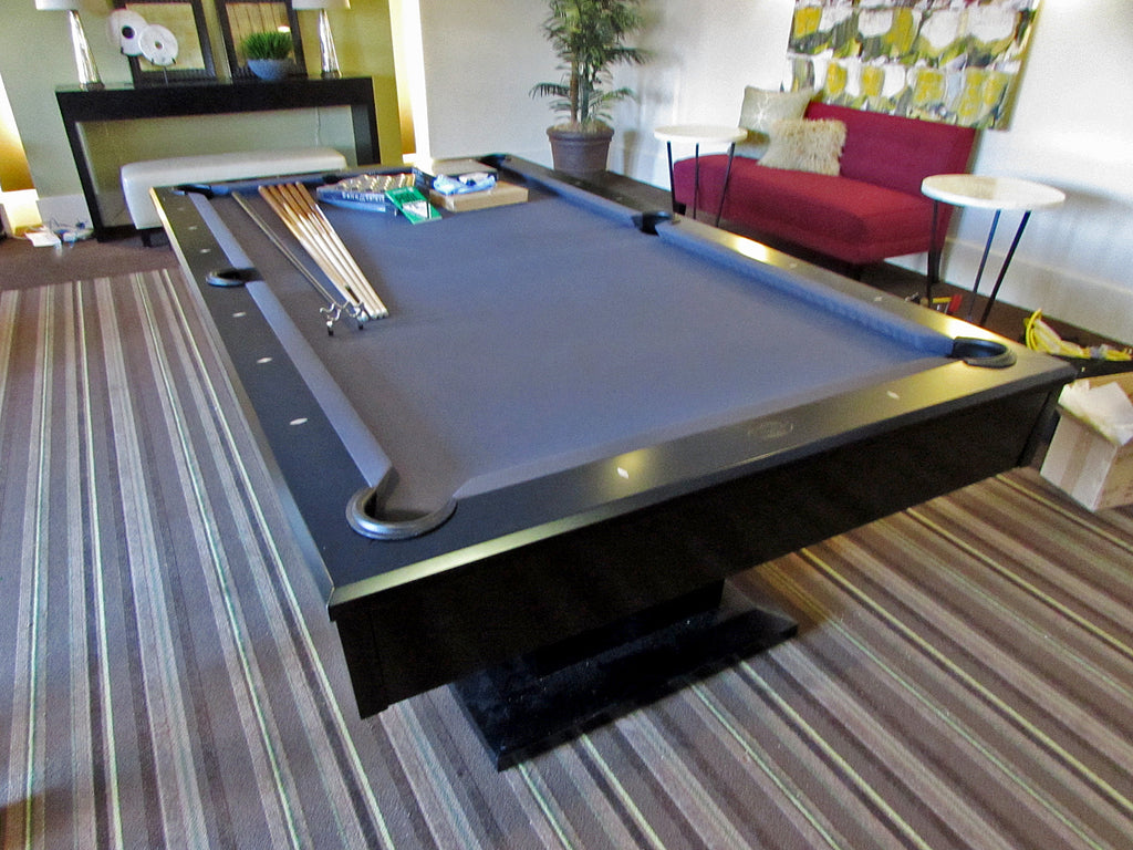 olhausen alexandria pool table ebony