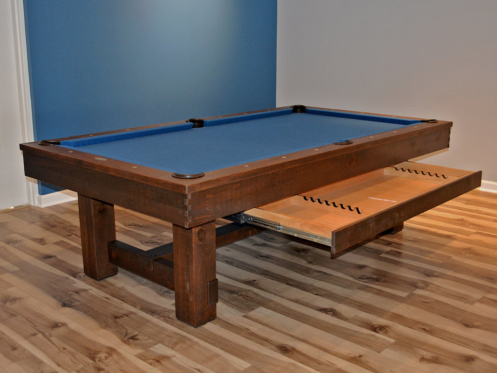 Olhausen Breckenridge pool table with drawer showroom