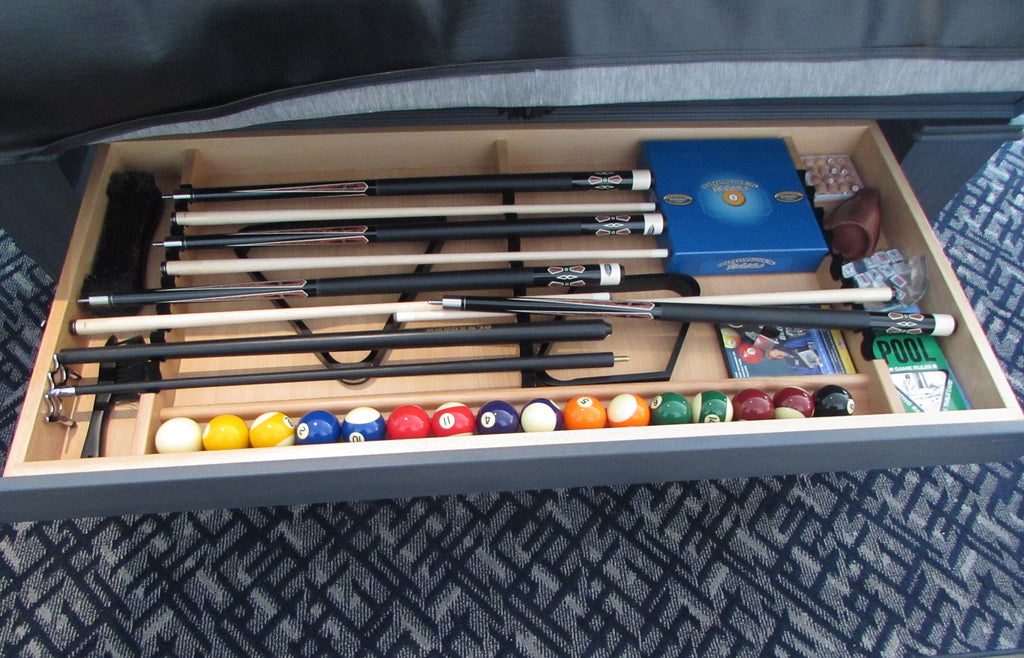classic 7' pool table drawer