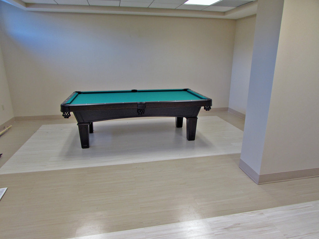 olhausen reno pool table ebony finish