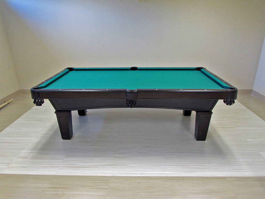olhausen reno pool table ebony on maple