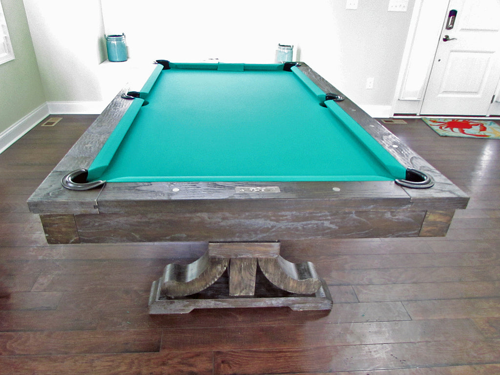 rustic pool table beach house maryland