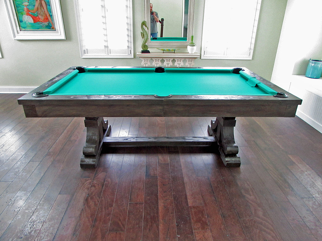 rustic pool table nautic theme room
