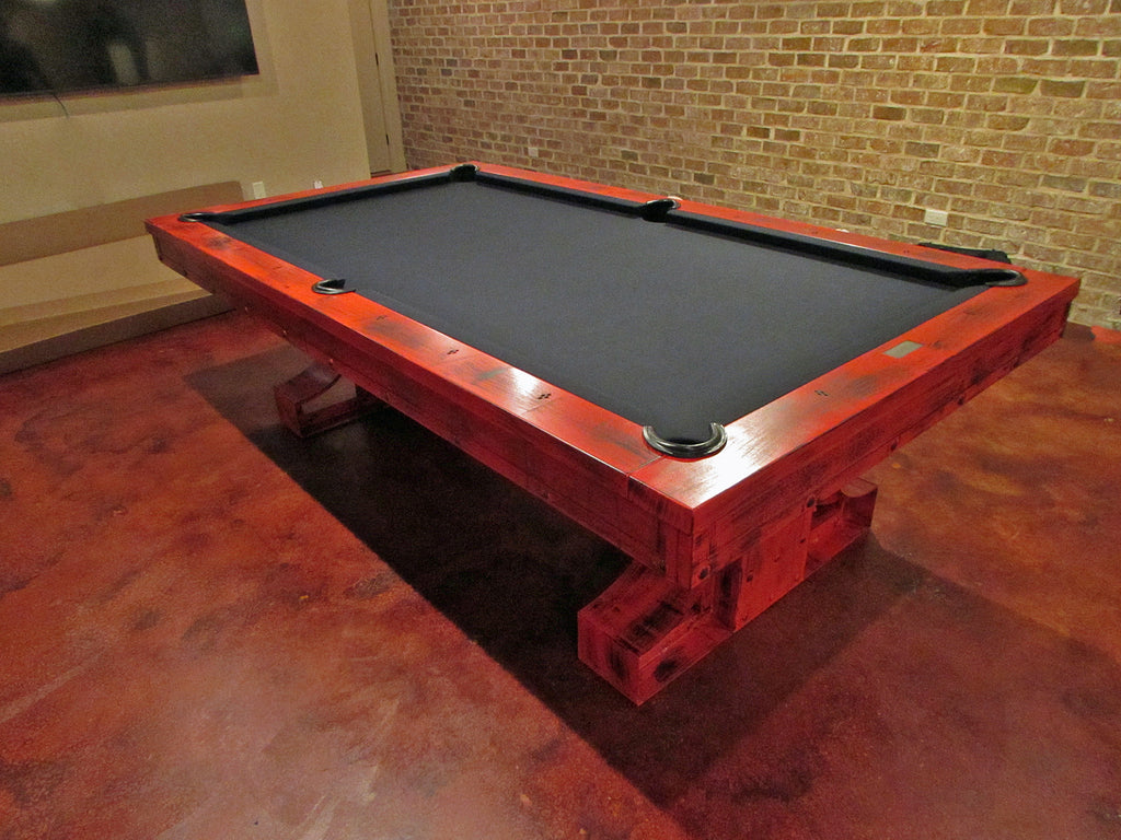 plank and hide rexx pool table red greencastle pennsylvania