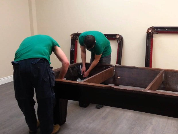 Pool Table Moving Services Robbies Billiards - How much is it to move a pool table
