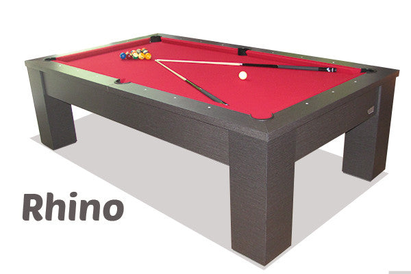 canada billiard rhino pool table stock