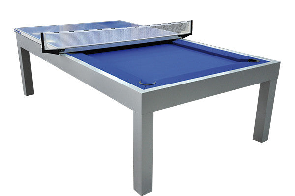 Genial ... Storm Outdoor Pool Table Ping Pong Top Half ...