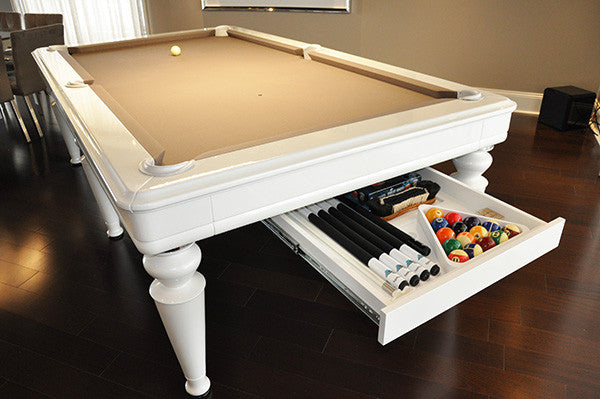 La Condo Venus Dining Pool Table drawer