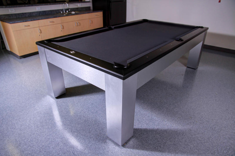olhausen madison pool table aluminum in basement