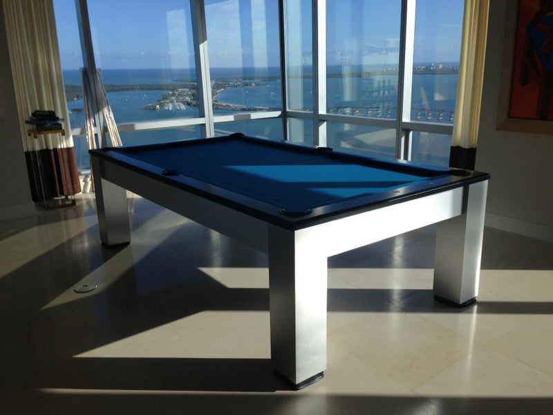 olhausen madison pool table aluminum high rise
