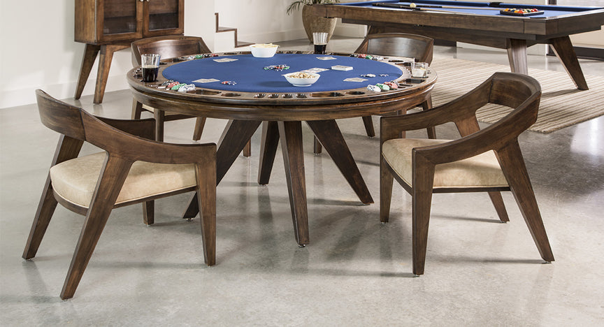 California House Austin Game Table stock room