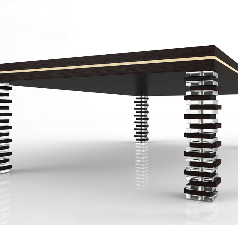 Bruxelles Dining Pool Table black end