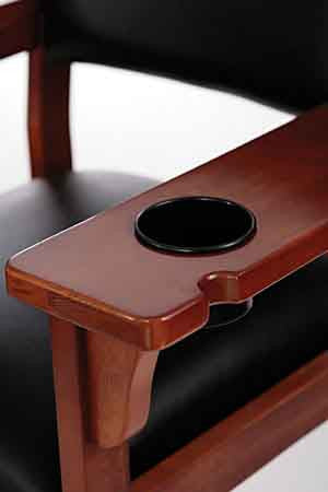 C.L. Bailey Billiard Spectator Chair