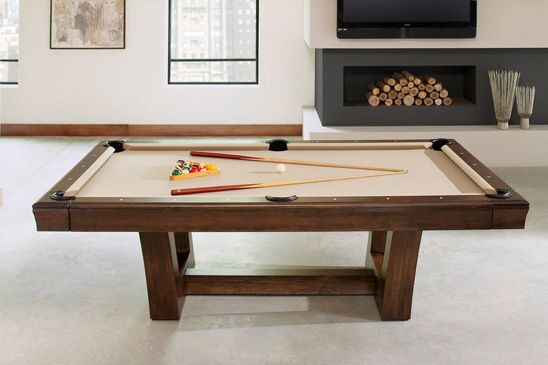 california house city pool table side