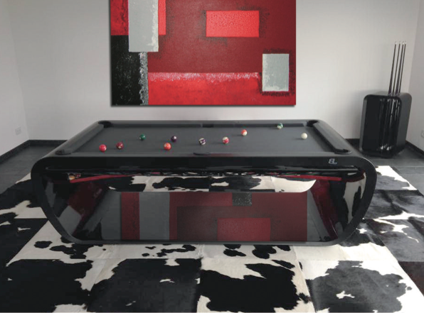 Billard Toulet Blacklight Pool Table